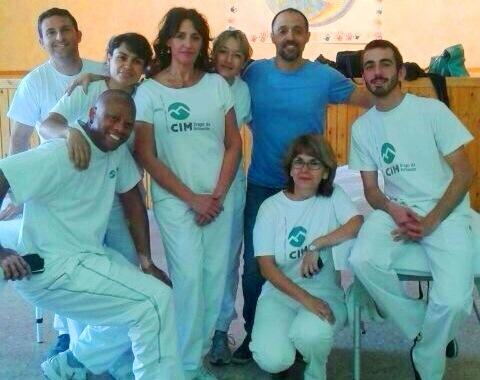 Masajistas de CIM colaboran en el 2º Triatlón de Cofrentes 1