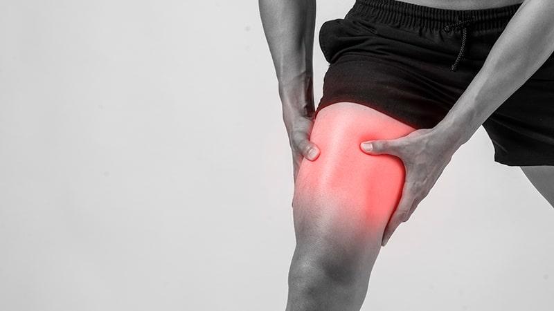 Desgarro muscular en la pierna