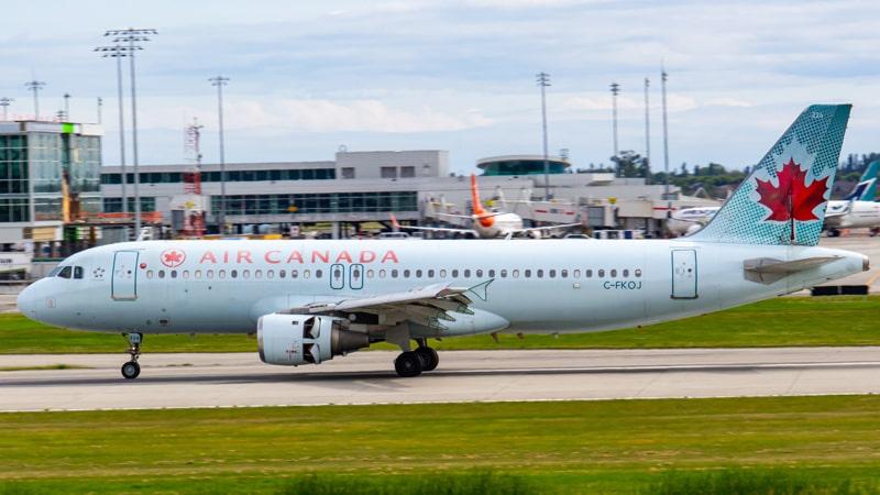 Airbus A320 de Air Canada
