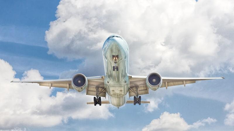 Boeing 747 despegando