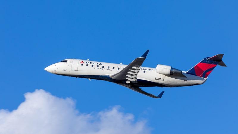 Bombardier CRJ de Delta