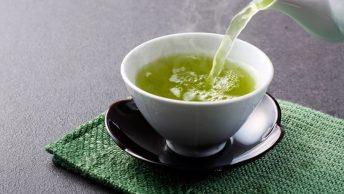 Té verde para el drenaje linfático