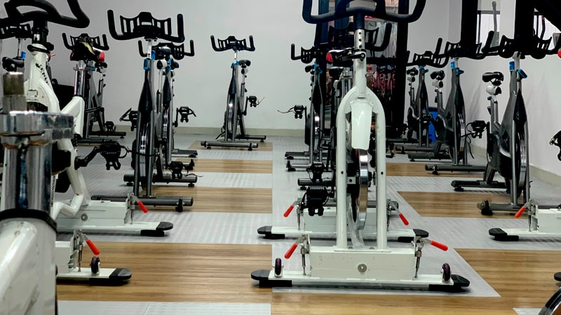 Sala de ciclo indoor