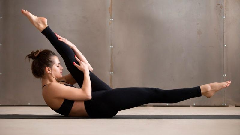 Elongación en pilates