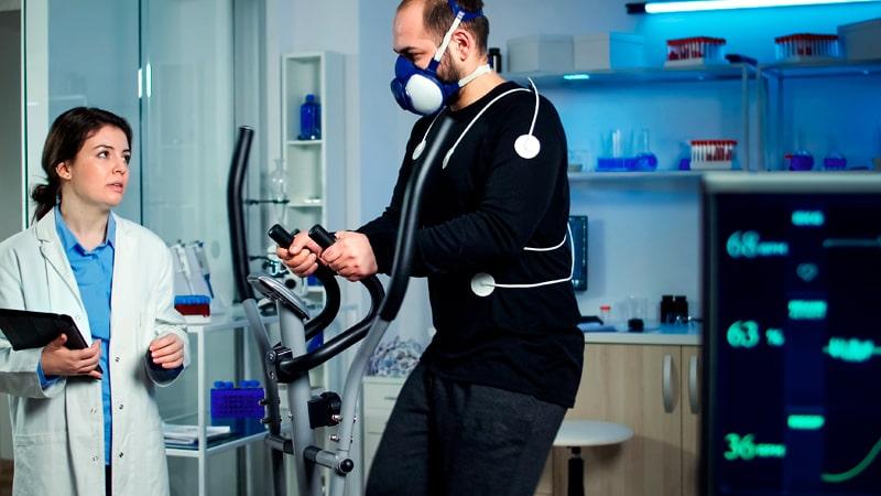 Prueba de volumen máximo de oxígeno