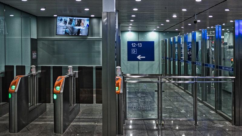 Zona de seguridad del aeropuerto