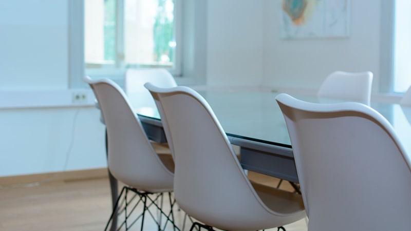 Sala para una entrevista de trabajo