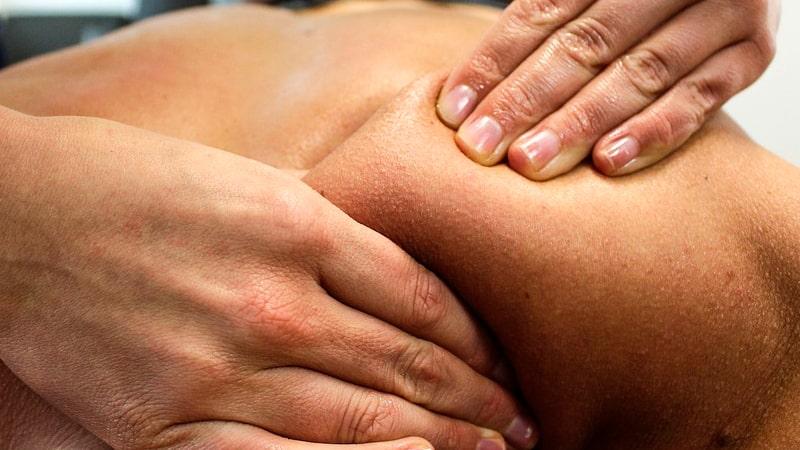 Pellizcos en masaje