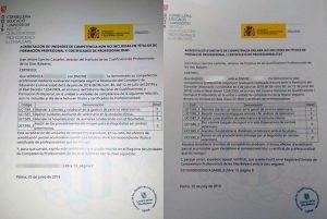 Certificado de acreditación profesional de asistencia veterinaria