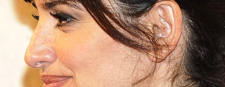 Penélope Cruz, auriculoterapia