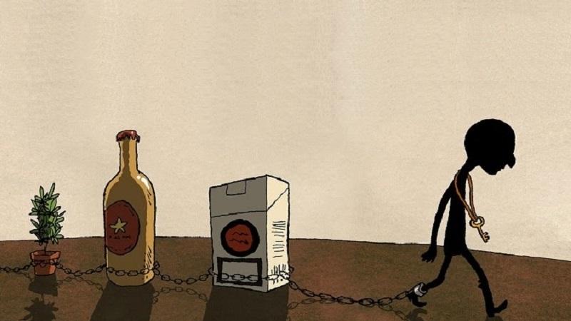 Adicción a las drogas, alcohol y tabaco