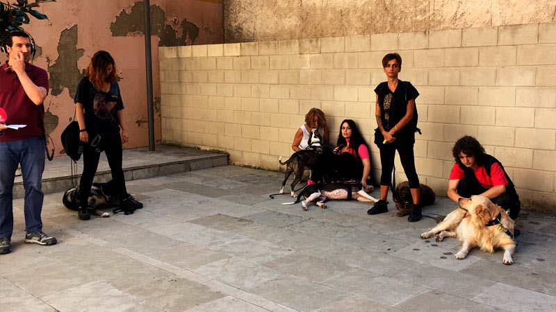 Alumnos de CIM en Radio Sabadell