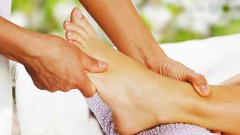masaje en los pies|