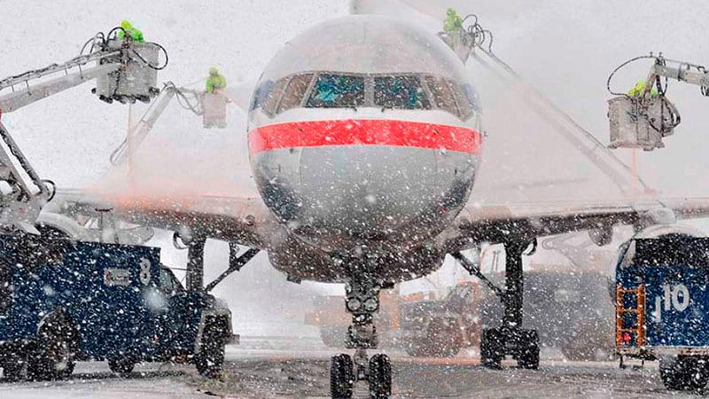 Protección frente al hielo en los aviones 1