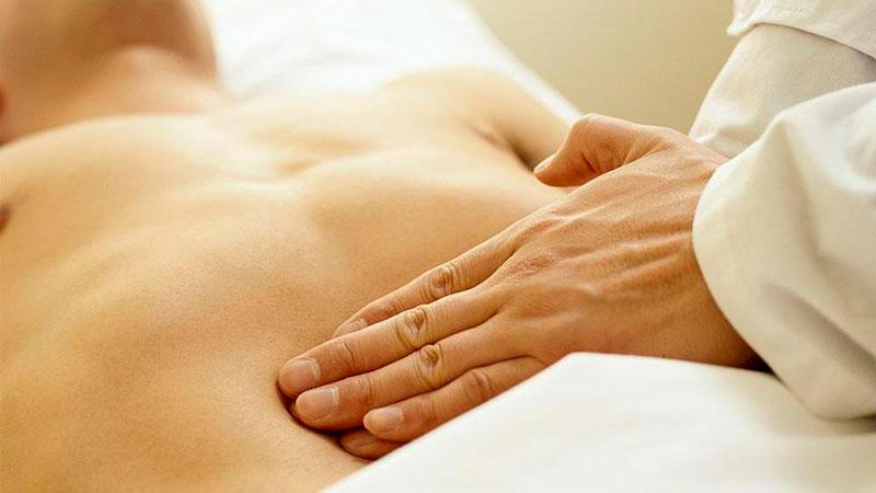 Corrección de disfunciones osteopáticas viscerales