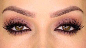 Corrección de maquillaje de ojos