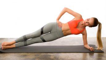 Chica cuerpo pilates