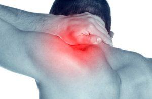 dolor de cuello cervical y de hombros