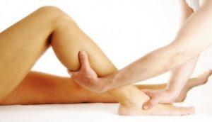Drenaje linfático de piernas
