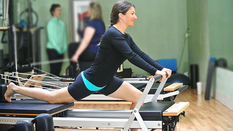 Ejercicio de Pilates para runners