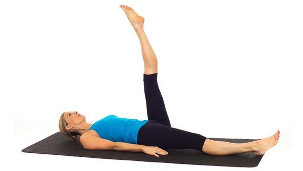 Ejercicio de Pilates One Leg Circle