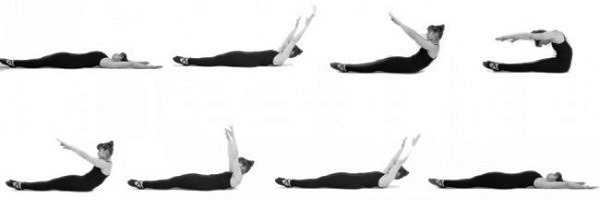 Roll-up Pilates