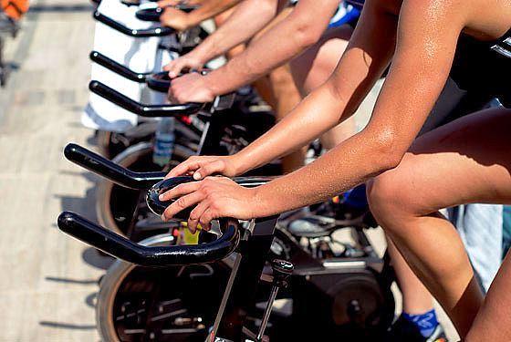 entrenamiento intervalos bicicleta estatica spinning
