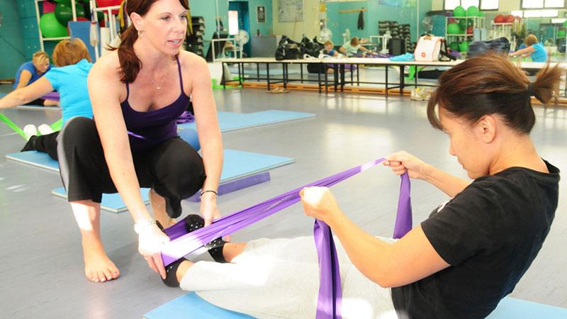 Errores al practicar Pilates
