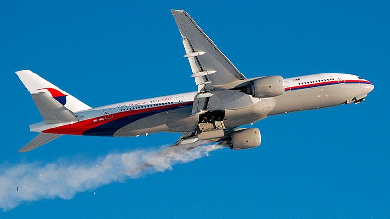 fallo del motor del avión en pleno vuelo