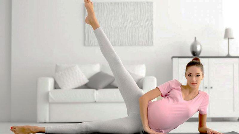 Hacer Yoga y Pilates durante el embarazo