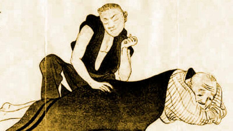 Historia del masaje en China