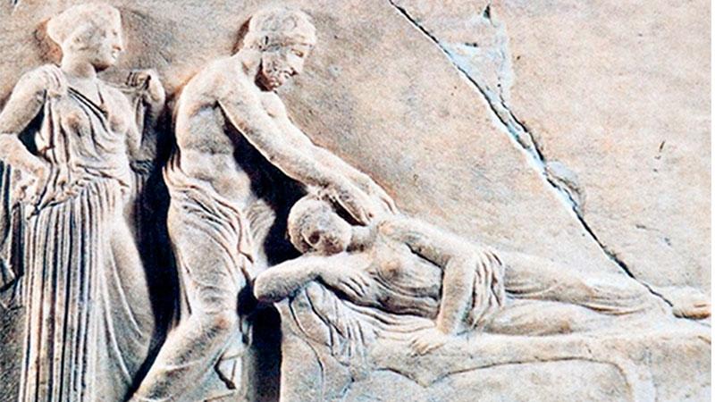 Historia del masaje en Grecia