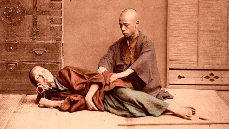 Historia del masaje en Japón