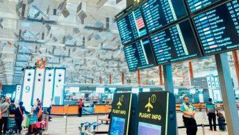 Interior del aeropuerto