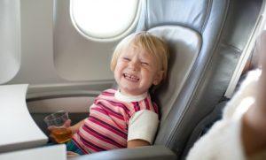 llorando en avion