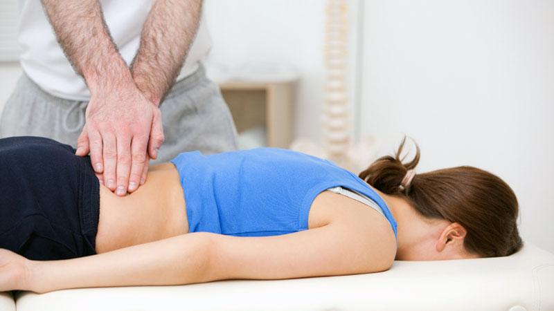 manipulación osteopática de la columna vertebral