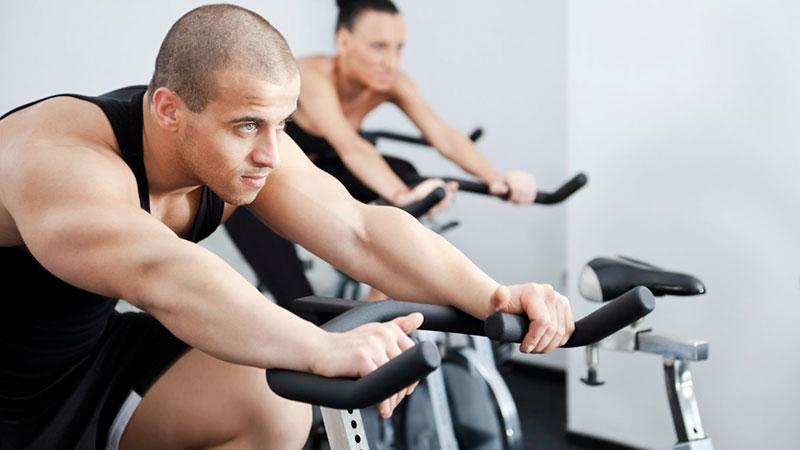 mantener el ritmo en la clase de ciclo indoor