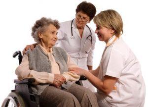personal sanitario tercera edad