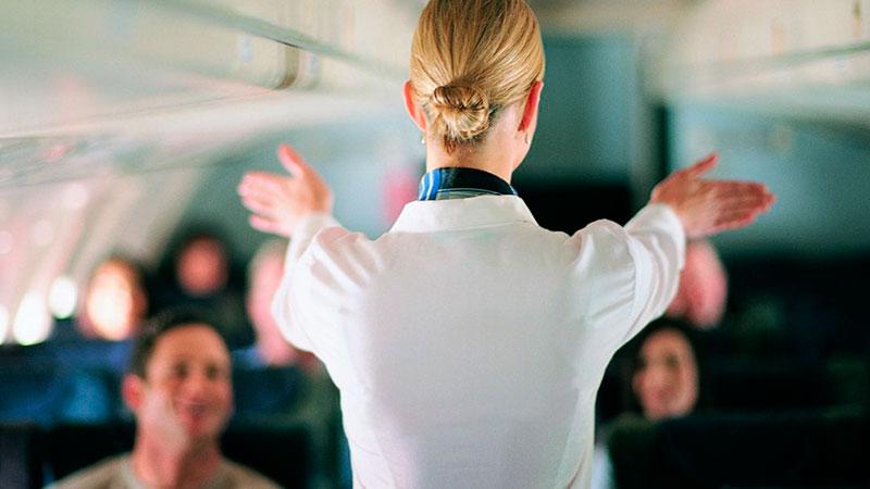 Explicación de procedimientos de emergencia en un vuelo por TCP