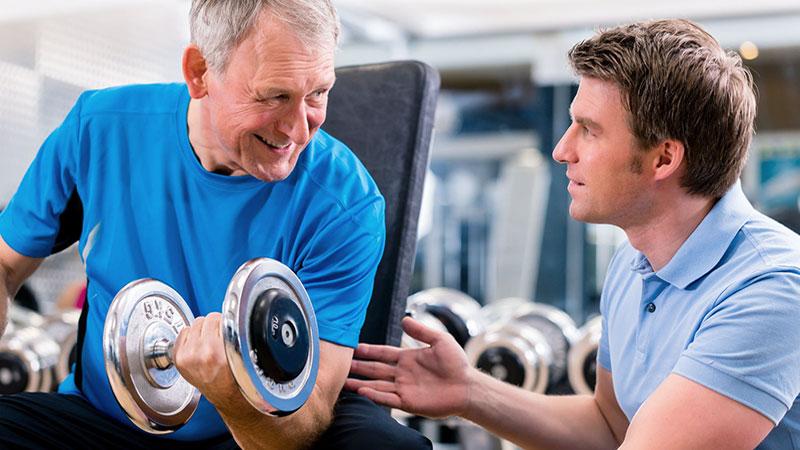 recomendaciones de ejercicio para personas mayores