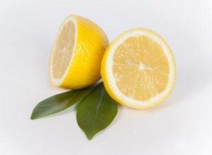 trozos de limon