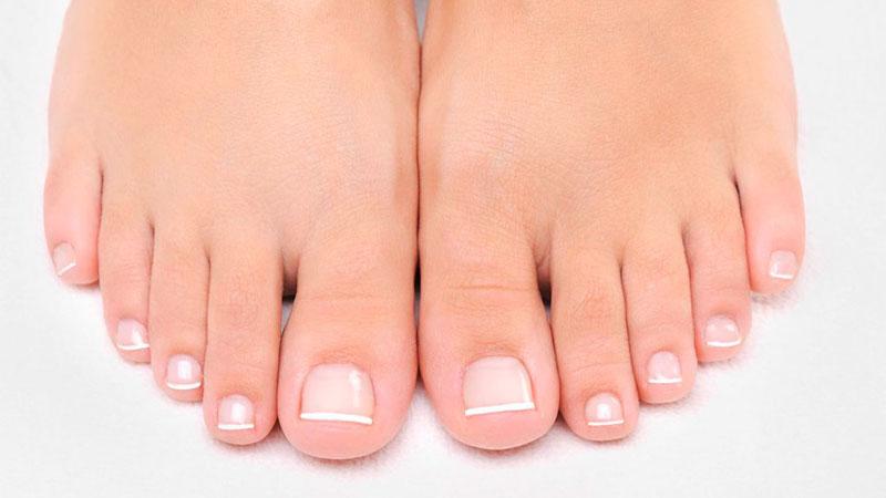 Uñas de los pies sanas