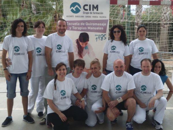 Masajistas de CIM Formación colaboran en el BTT Benaguasil 2015 15