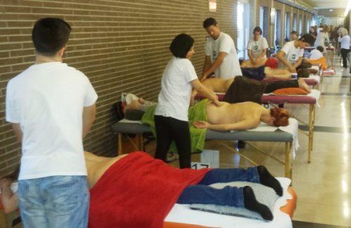 noticias cim general cim barcelona quiromasaje salud y bienestar Quiromasajistas de CIM en BioCultura Barcelona 2014