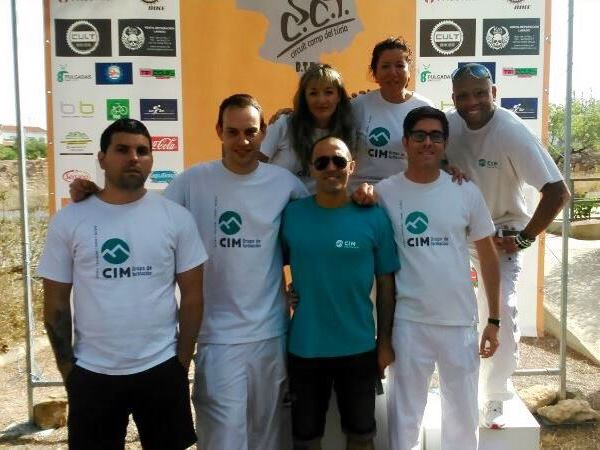 Masajistas de CIM colaboran en la Marcha Cicloturista BTT Alcublas 6