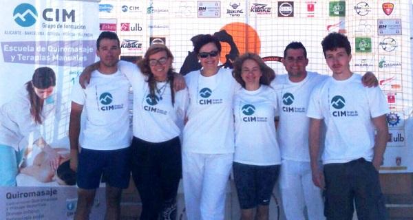 Quiromasajistas de CIM Formación colaboran en la I Marcha y Maratón Gestalgar 2016 2
