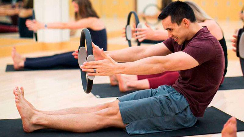 Fuerza y flexibilidad con Pilates