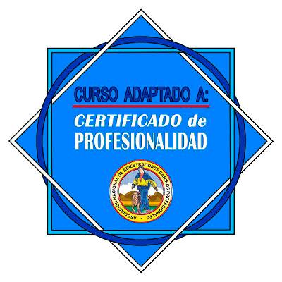 Logo curso adaptado a Certificado Profesionalidad ANACP