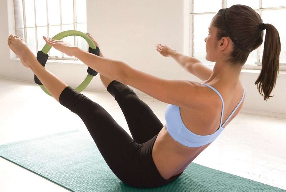 Pilates con Power Circle