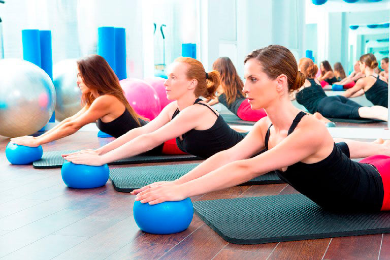 Pilates con implementos